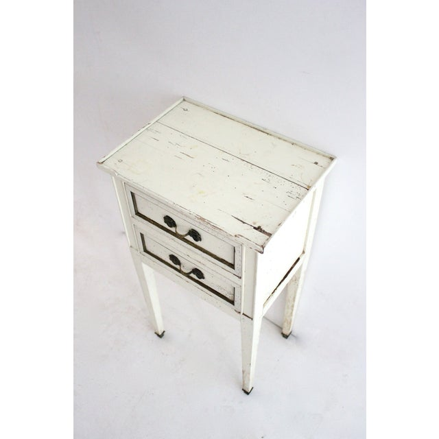 G.E.K.A. Distressed Nightstands- A Pair - Image 3 of 5