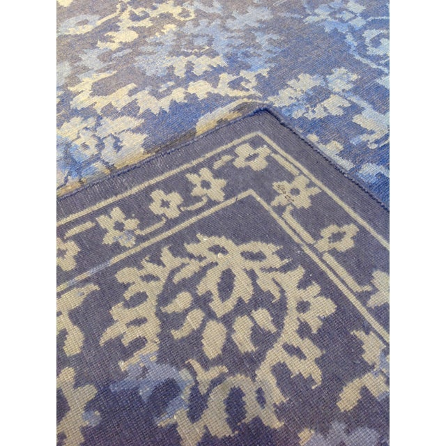 Persian Gray Amp Purple Floral Rug 8 X 10 Chairish