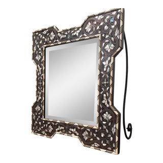 Bone & Mother of Pearl Inlaid Vanity Mirror