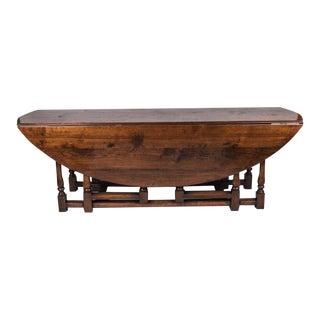 Irish Charles II Style Wake Table