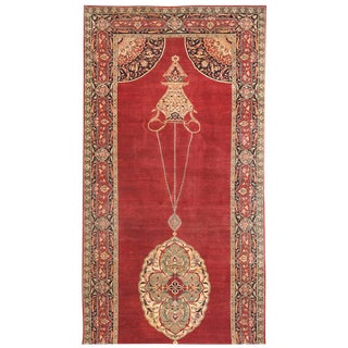 Exceptional 19th Century Persian Tabriz Gallery Carpet