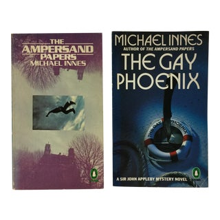 Vintage Novels by Michael Innes - A Pair