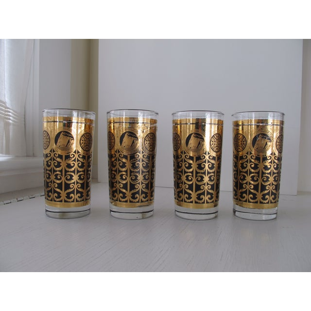 Midcentury Highball Glasses - Set of 4 - Image 2 of 5