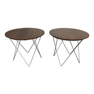Zuo Modern Macho Side Tables - A Pair