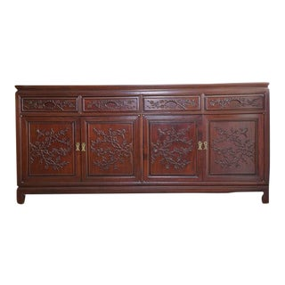 Hand Crafted Rosewood Sideboard