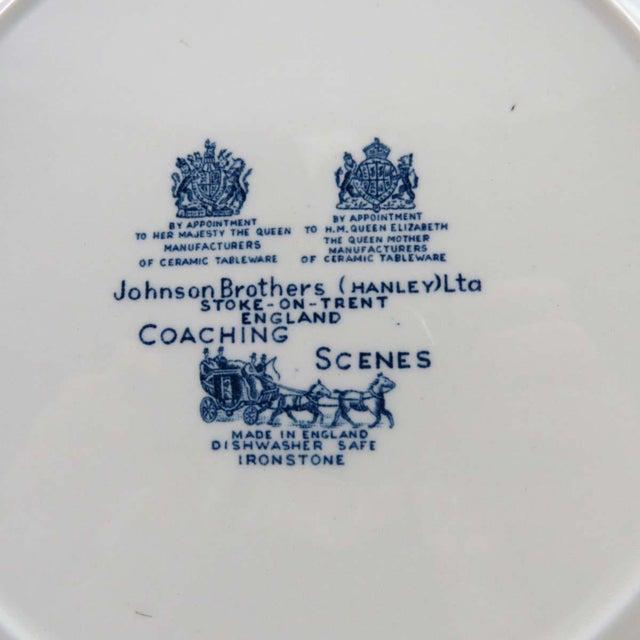 Vintage Mismatched Ironstone Dinner Plates - Set of 4 - Image 8 of 11