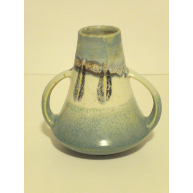 Vintage Aqua Colored Vases - Set of 3 - Image 8 of 11