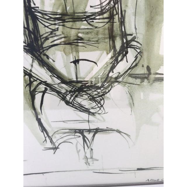 """""""Caroline"""" Lithograph by Alberto Giacometti - Image 5 of 7"""