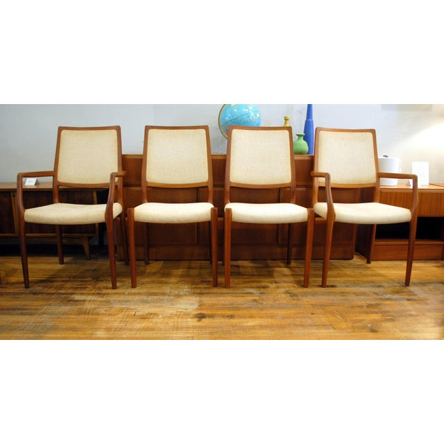 Image of JL Moller Vintage Teak Dining Chairs - Set of 4