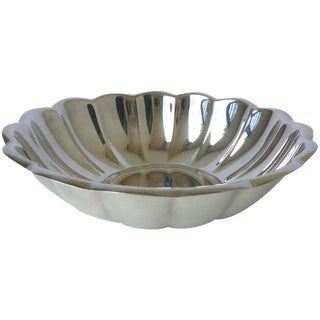 Reed & Barton Silverplated Fluted Bowl