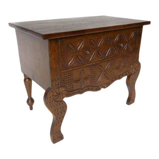 Custom Carved Console Table or Vanity