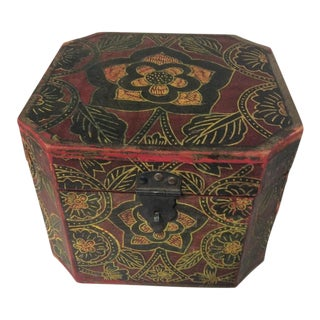 Vintage Handmade Indonesian Keepsake Box