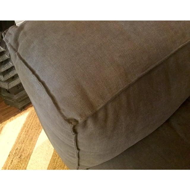 Linen Upholstered Sofa - Image 4 of 4