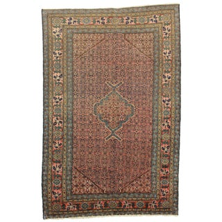 "Vintage Hand Knotted Rug - 5'4"" x 7'2"""