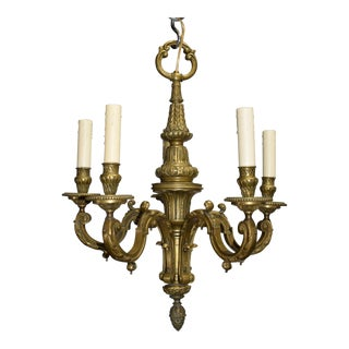 Antique chandelier, Louis XVI style