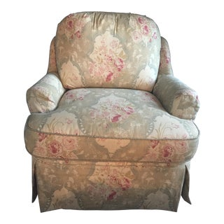 Calico Corners Custom Club Chair and Pillow