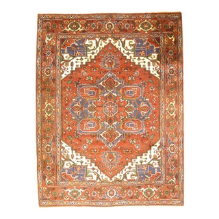 Pasargad N Y Indo Serapi Hand-Knotted Rug - 9' X 12'