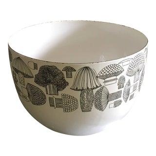 MCM Mushroom Bowl, Kaj Franck Arabia Serving Dish, Mid Century Modern