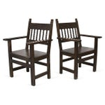 Image of Spanish Armchairs - A Pair