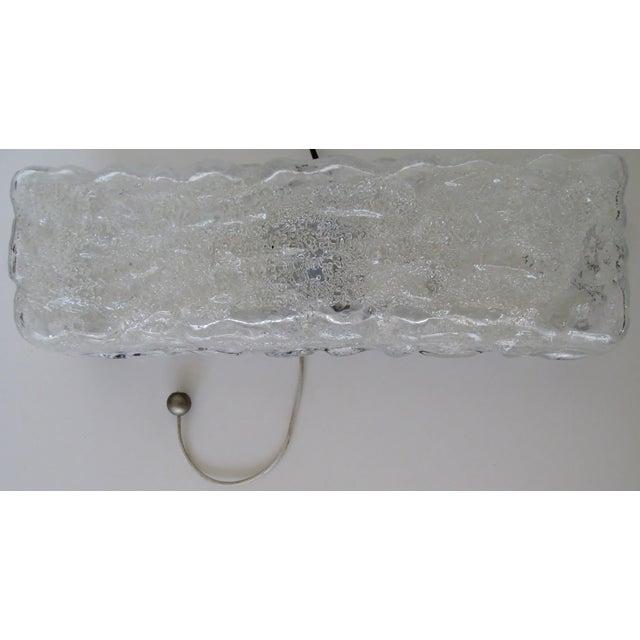 Image of Kalmar Ice Glass Wall Sconce