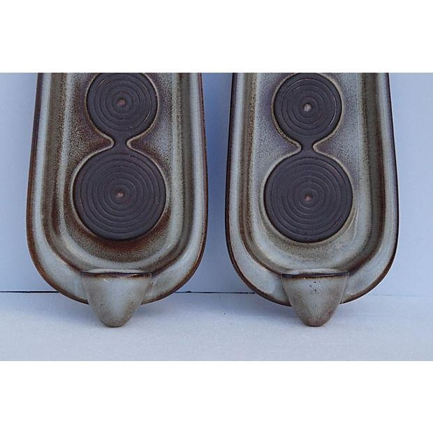 Danish Mid-Century Wall Candle Holders - A Pair - Image 3 of 6