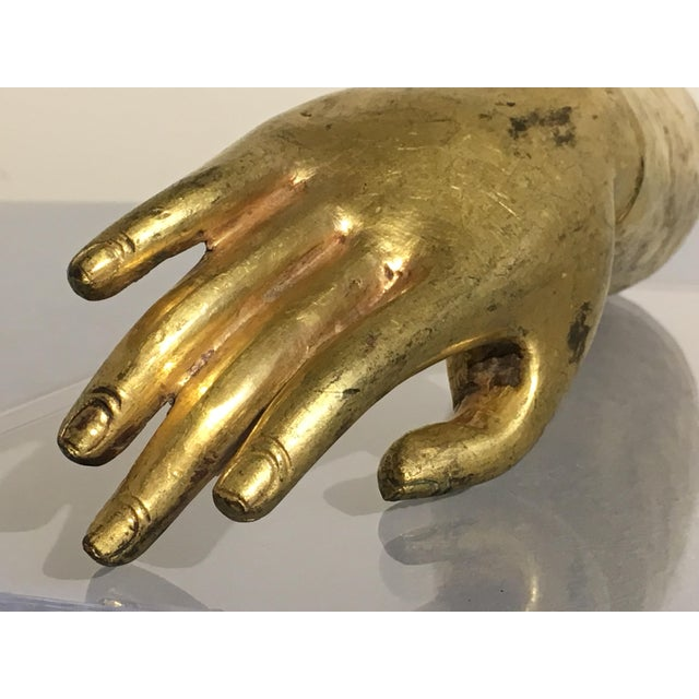 Tibetan Gilt Bronze Arm of the Buddha, early 19th century - Image 10 of 10