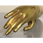 Image of Tibetan Gilt Bronze Arm of the Buddha, early 19th century