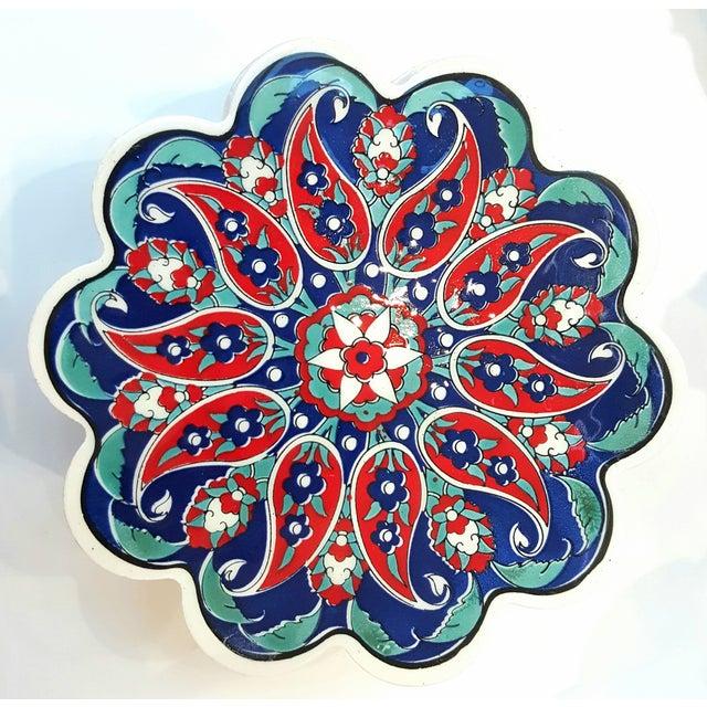 Turkish Tile Trivets - Set of 5 - Image 3 of 7