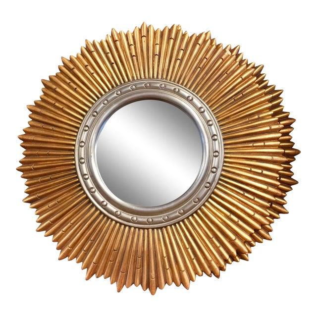 Sunburst Porthole Beveled Wall Mirror - Image 1 of 5