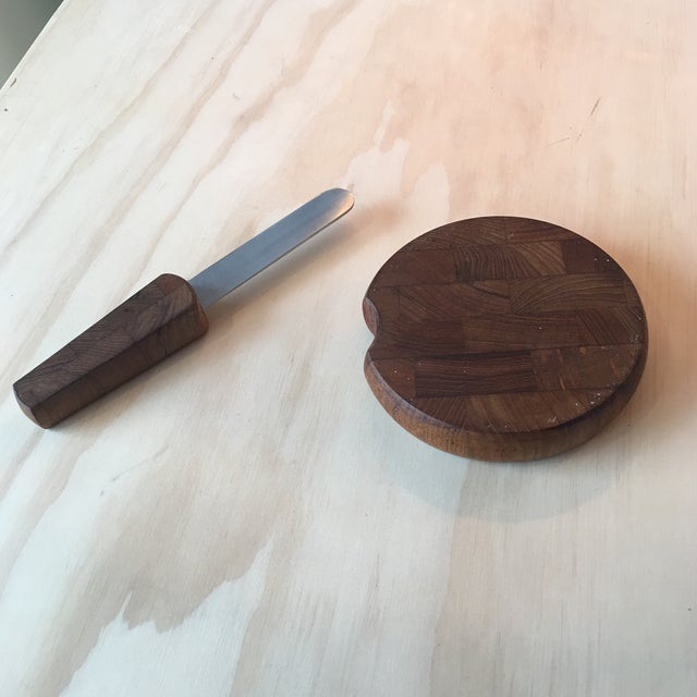 Image of Dansk Cheeseboard with Knife