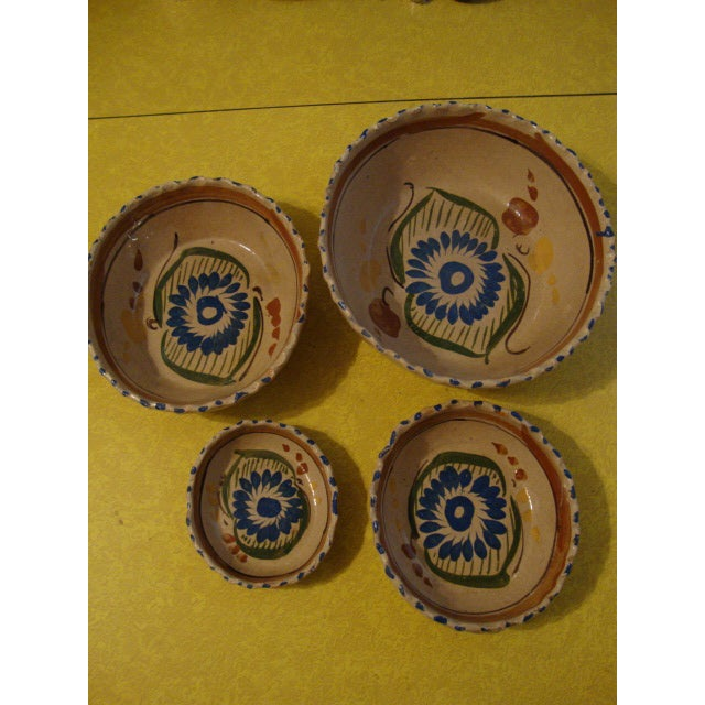 Mexican Tlaquepaque Nesting Bowls - Set of Four - Image 2 of 10