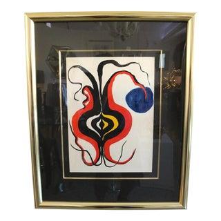 Original Alexander Calder Lithograph