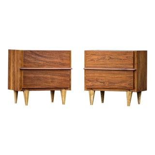 American of Martinsville Mid-Century Nightstands - A Pair