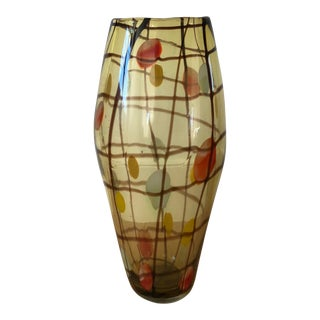 Dale Tiffany Hand-Blown Glass Vase