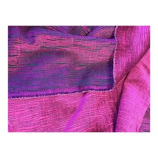 Clarke & Clarke Magenta Reversible Woven Fabric - 1.5 Yards