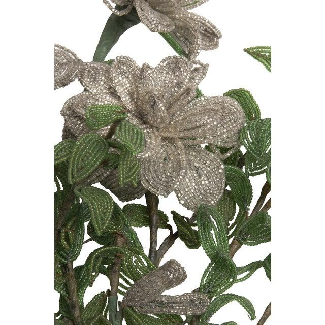 Vintage Bouquet of Venetian Beaded Flowers - Image 2 of 2