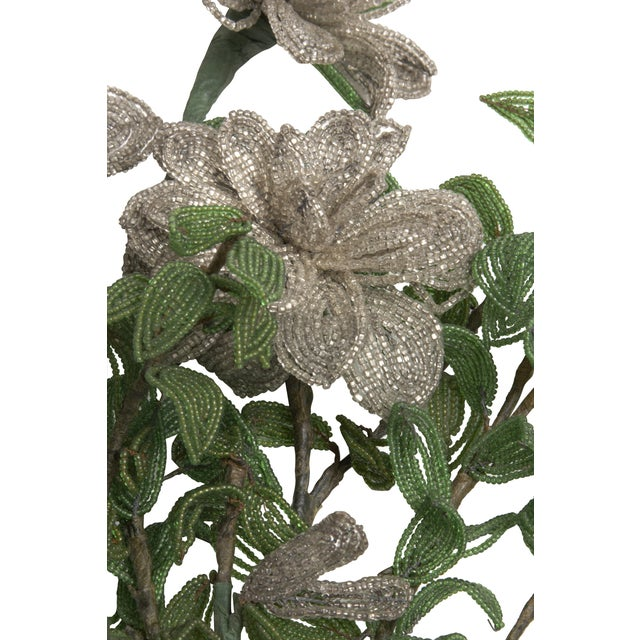 Image of Vintage Bouquet of Venetian Beaded Flowers