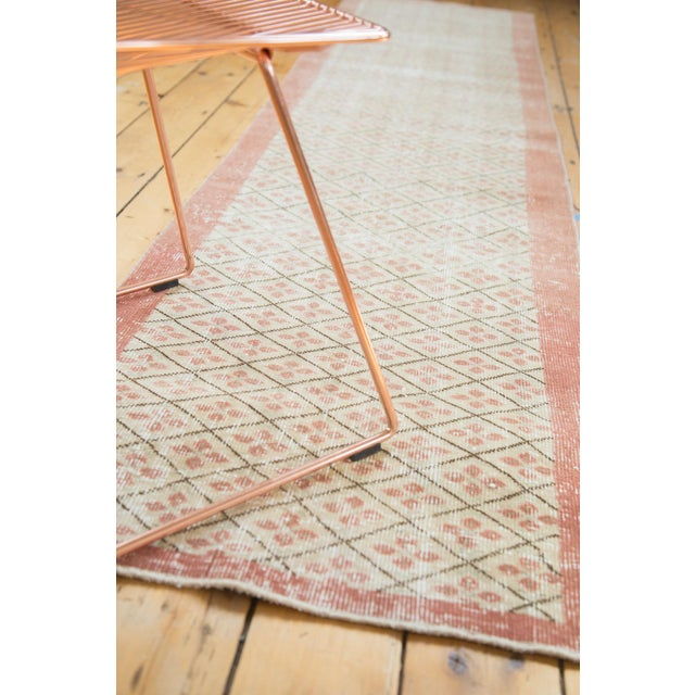 "Vintage Distressed Oushak Runner- 2'3"" x 9'6"" - Image 5 of 7"