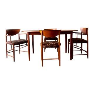 Peter Hvidt Mid Century Modern Dining Set