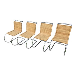 Mies Van Der Rohe M10 Dining Chairs - Set of 4