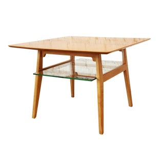 Jens Risom Mid-Century Modern Maple Cocktail Table