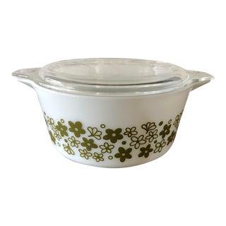 Pyrex Spring Blossom Casserole Dish W /Lid