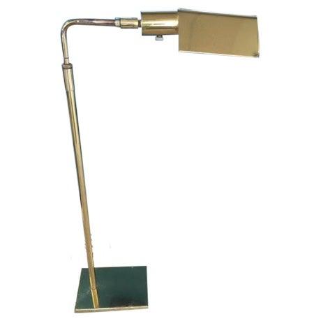Mid-Century Koch & Lowy Adjustable Floor Lamp - Image 1 of 9