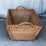 Image of Large Vintage French Laundry Basket