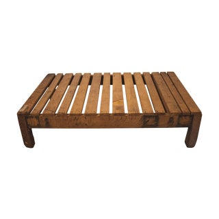 French Wooden Pallet Coffee Table