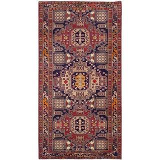 "Meshkin Vintage Persian Rug, 5'3"" x 10'0"""