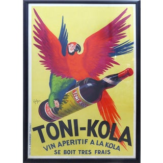 1935 French Art Deco Toni-Kola Poster