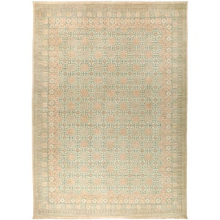 """New Khotan Hand-Knotted Rug - 9' 10"""" x 13' 9"""""""
