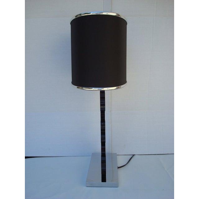 Image of Pair- Black Deco Glam Lamp