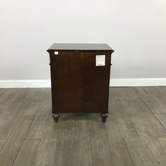 Cane-Lined Traditional Nightstand - Image 10 of 11
